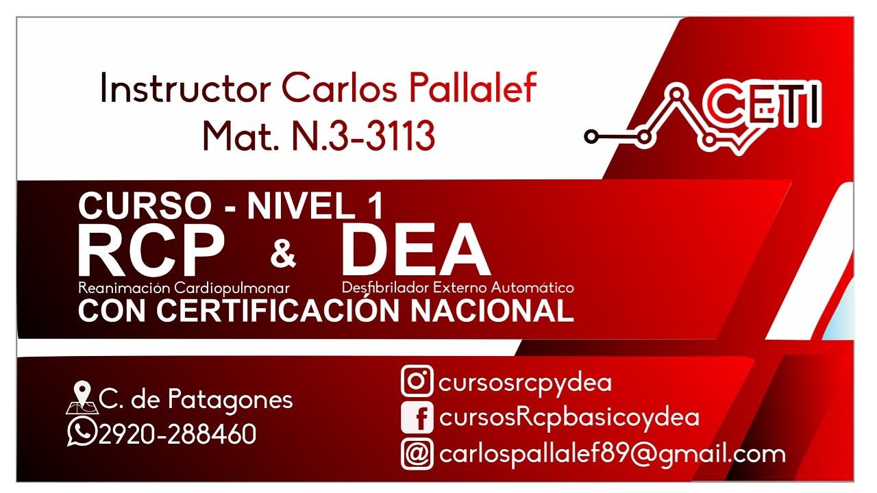 Instructor Carlos Pallalef