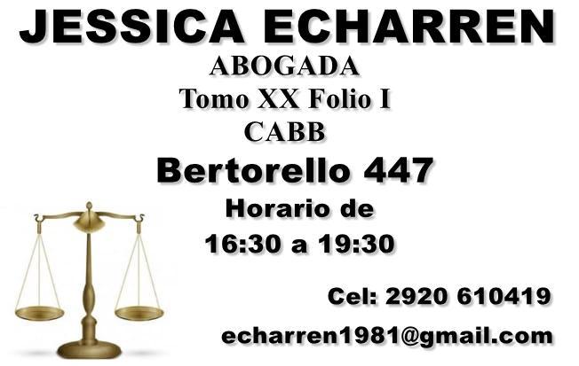 Jessica Echarren Abogada